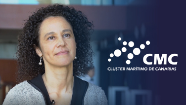 Elba Bueno. Manager of the Maritime Cluster of the Canary Islands